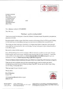 Jumper Day Letter